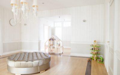 Det klassiske hjem; høje paneler og elegance